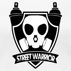 Street Warrior (Warrior of the street) - Women's Premium T-Shirt