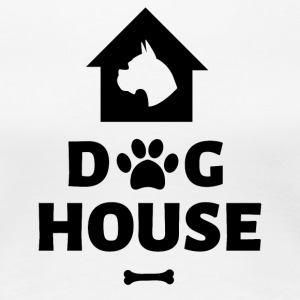 Dog House - Women's Premium T-Shirt