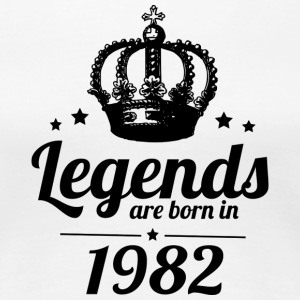 Legends 1982 - Women's Premium T-Shirt
