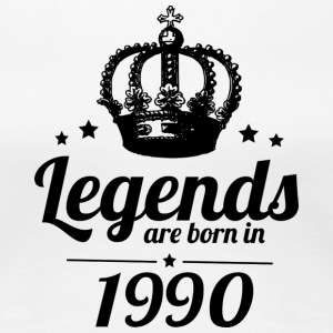 Legends 1990 - Women's Premium T-Shirt