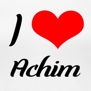 I love Achim - Women's Premium T-Shirt