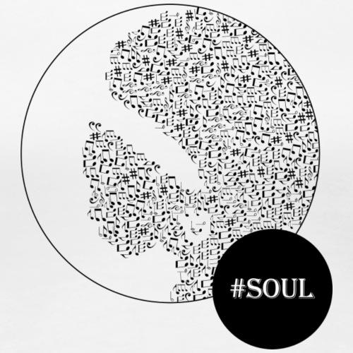 Soul WHITE - Vrouwen Premium T-shirt