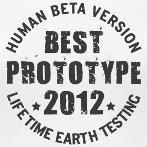 2012 - The birth year of legendary prototypes - Women's Premium T-Shirt