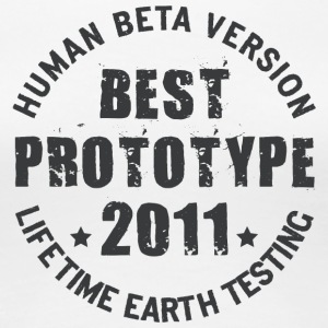 2011 - The birth year of legendary prototypes - Women's Premium T-Shirt
