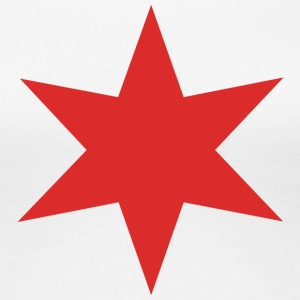 Red Chicago Star - Women's Premium T-Shirt