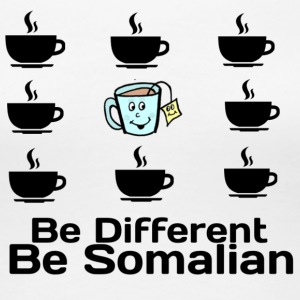 be different be somalian - Premium T-skjorte for kvinner