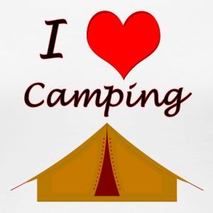 I Love Camping - Women's Premium T-Shirt