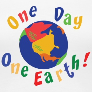 Earth Day One Day One Earth - Women's Premium T-Shirt