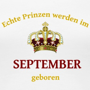 September Prinz - Frauen Premium T-Shirt