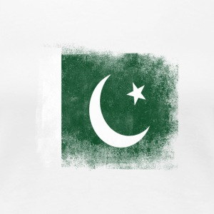 Pakistan Flag Proud Pakistan Vintage Distressed S - Premium-T-shirt dam