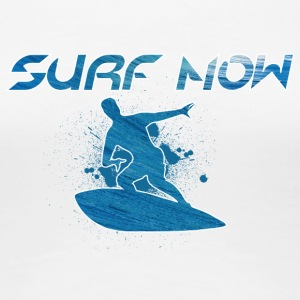 surf now 01 - Women's Premium T-Shirt