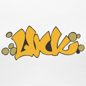 held graffiti - Dame premium T-shirt