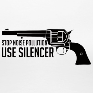 Militär / Soldaten: Stop Noise Pollution, Use - Frauen Premium T-Shirt
