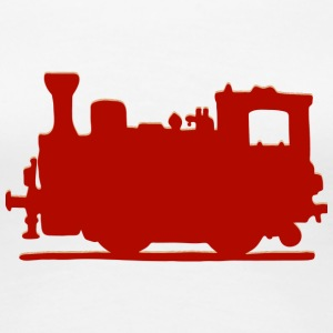 Vintage Steam Train - Frauen Premium T-Shirt