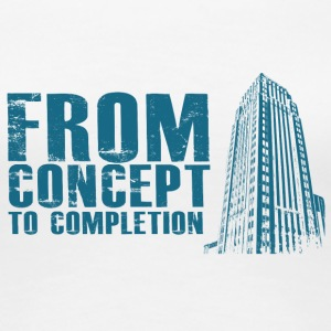 Architect / Architecture: From Concept To Completio - Women's Premium T-Shirt