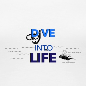 Dive into Life - Women's Premium T-Shirt
