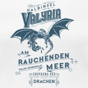 dragon final - Frauen Premium T-Shirt