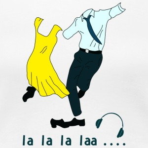 dancing La la land - Women's Premium T-Shirt