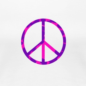 Peace & Love Girl - T-shirt Premium Femme