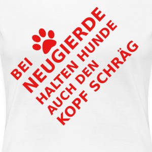 cant hond - Vrouwen Premium T-shirt