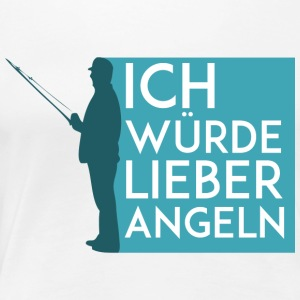 Fisherman_Design-3 - Frauen Premium T-Shirt