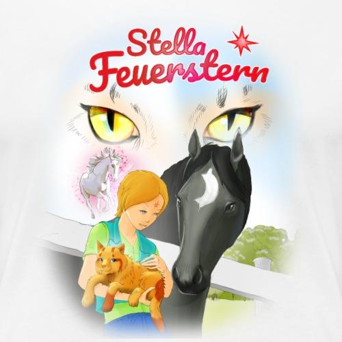 Stella Titelmotiv Katzenkoenig - Frauen Premium T-Shirt