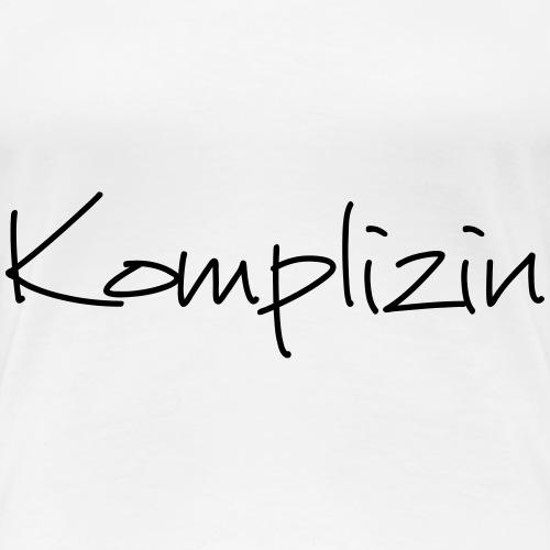 Komplizin JGA Junggesellenabschied Freundin - Frauen Premium T-Shirt