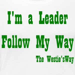 Follow My Way Green - Women's Premium T-Shirt