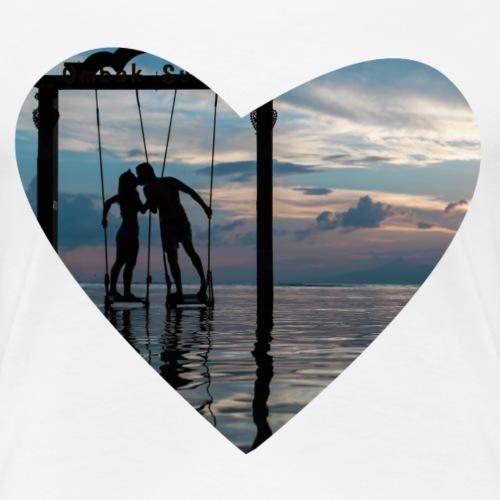 Flowing love - Frauen Premium T-Shirt