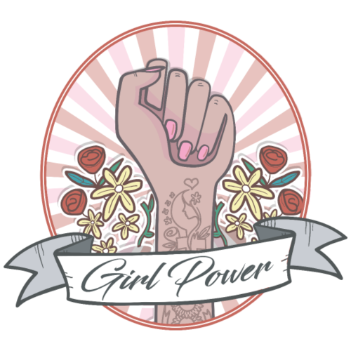 GIRL POWER - HOPE - T-shirt Premium Femme