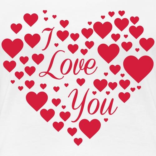 Jeg elsker deg - Women's Premium T-Shirt