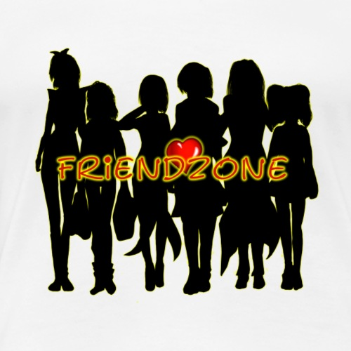 Friendzone - Heart - Frauen Premium T-Shirt
