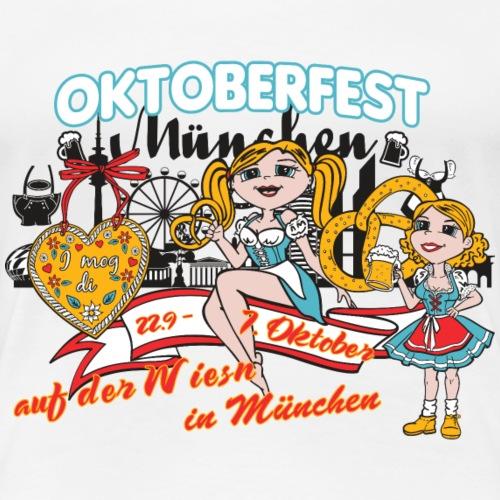 Oktoberfest Wiesn 2018 München - Frauen Premium T-Shirt