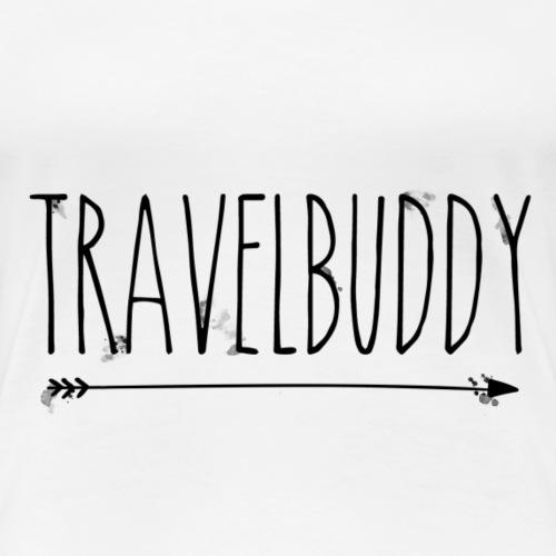 Travelbuddy rechts - Frauen Premium T-Shirt
