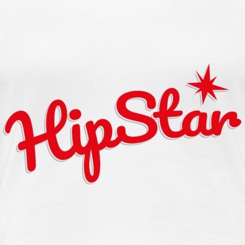HipStar rot - Frauen Premium T-Shirt