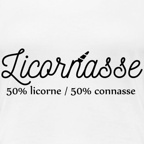 Licornasse - T-shirt Premium Femme