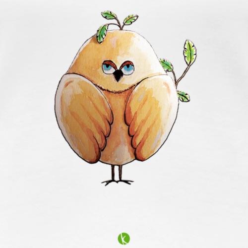 Drôle d'oiseau - Piaf - T-shirt Premium Femme