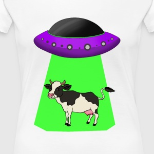 Alien Abduction - Premium T-skjorte for kvinner