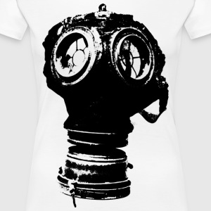 Gas-mask - Women's Premium T-Shirt