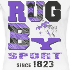 RUGBY SINCE 1823 - Women's Premium T-Shirt