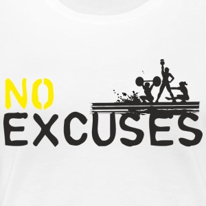 No Excuses - sport is not murder - Women's Premium T-Shirt