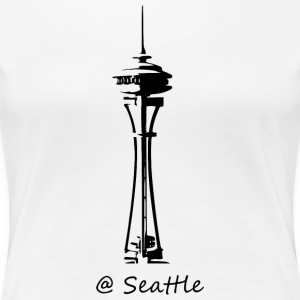 Seattle - Premium-T-shirt dam