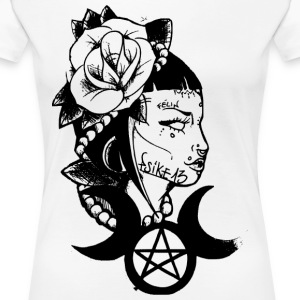 Poetic witch_Psike13 - Women's Premium T-Shirt