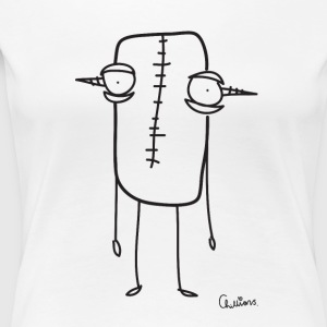 Chillions Monster van Frankenstein - Vrouwen Premium T-shirt