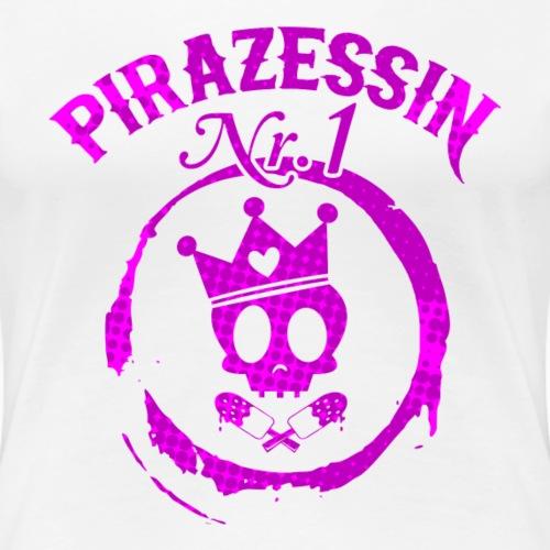 Piraten Prinzessin nr1- Girls Shirt - Frauen Premium T-Shirt