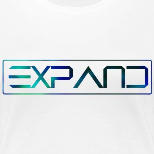 Expand Logo Text 2017 - Vrouwen Premium T-shirt