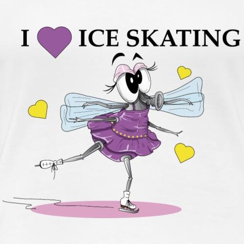 Zanine I love skating - T-shirt Premium Femme