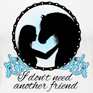 I dont need another friend - Women's Premium T-Shirt