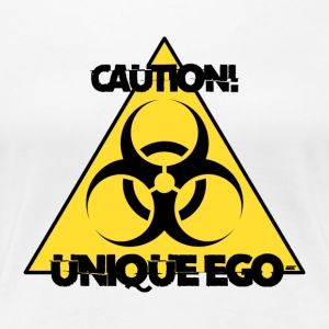 Attention! Unique Ego - La Biohazard édition - T-shirt Premium Femme