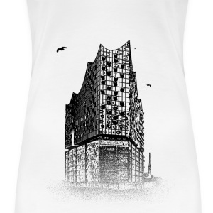 Around The World: Elbphilharmonie - Hambourg - T-shirt Premium Femme